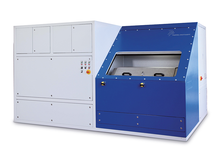 Pressure Pulsation Test Stand with automatic door and climate controlled environment