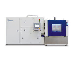 Pressure Pulsation Test Stand with a frequency of 0.2 Hz to 5 Hz, tempered media and climate controlled test chamber